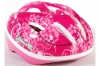 Volare Kinder Fahrradhelm Deluxe pink Blume