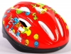 Volare Kinder Fahrradhelm Deluxe Smiley rot